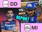 IPL10- મુંબઇ ઇન્ડિયન્સે દિલ્હીને 14 રનથી હરાવ્યું!