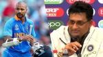 વર્લ્ડ કપ 2019ઃ ભારતીય ટીમને મોટો ઝાટકો, શિખર ધવન વર્લ્ડ કપમાંથી બહાર
