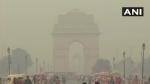 પ્રદૂષિત હવાથી દિલ્હી બેહાલ, ધુમ્મસની ચાદરમાં ઢંકાયી રાજધાની