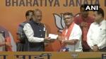 મણિપુર: પૂર્વ કોંગ્રેસ અધ્યક્ષ ગોવિંદ દાસ કૌંથોઉજામ BJPમાં સામેલ