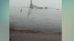 દિલ્હી: ઇન્દિરા ગાંધી ઇન્ટરનેશનલ એરપોર્ટ બન્યુ સ્વિમિંગ પુલ, રન વે થયુ પાણી-પાણી