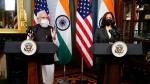 વૉશિંગ્ટનમાં અમેરિકી ઉપરાષ્ટ્રપતિ કમલા હેરિસને મળ્યા પીએમ મોદી, આપ્યુ ભારત આવવાનુ આમંત્રણ