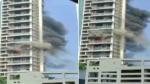 મુંબઈની 60 માળના અવિઘ્ના પાર્ક અપાર્ટમેન્ટમાં લાગી આગ, ઘટના સ્થળે પહોંચ્યુ ફાયર બ્રિગેડ