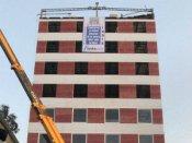 ના રેતી, ના સિમેન્ટ, 48 કલાકમાં બની 10 માળની ઇમારત !