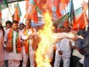 શિંદેના બયાન વિરૂદ્ધ બબાલ: આજે BJPનું વિરોધ પ્રદર્શન