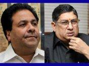 IPL : રાજીવ શુક્લાનું રાજીનામુ, શ્રીનિવાસને રાજીનામા માટે મૂકી 3 શરતો