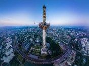 Photo : 503 મીટરની ઊંચાઇથી આવું અદભુત દેખાય છે મોસ્કો