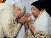 લતાજીનું ભારત રત્ન છીનવવાનું કહેનારાની ધરતી ખેંચી લોઃ મોદી
