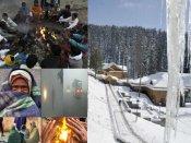 ઠંડીમાં ઠુઠવાયું ઉત્તર ભારત, લેહ -17.3 ડિગ્રી