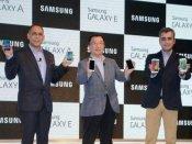 સેમસંગના 4 નવા સ્માર્ટફોન, ગેલેક્સી એ3, એ5, ઇ5 અને ઇ7