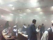 Pics: અફઘાનિસ્તાનની સંસદ પર આતંકી હુમલો, ભારતીયો સુરક્ષિત