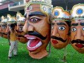 PICS: દુર્ગા પૂજા બાદ દશેરાના રંગે રંગાયુ ભારત