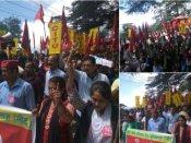 ભારત બંધની લેટેસ્ટ અપડેટ: પશ્ચિમ બંગાળમાં હિંસક ઝડપ