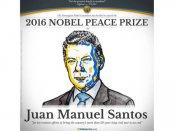 કોલંબિયાના રાષ્ટ્રપતિ બન્યા 2016 નૉબલ શાંતિ પુરસ્કારના વિજેતા