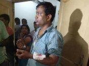 મહિલાએ RSSના કાર્યકર પર એસિડ ફેંકયું!