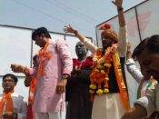 હાર્દિકના વતનમાં BJP યુવાપ્રમુખ ઋત્વિજ પટેલનો રોડ શો