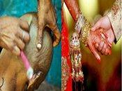 Omg! લગ્ન પહેલાં યુવતીઓને વાળ રાખવાની જ છે મનાઇ!