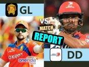 IPL 10: દિલ્હી ડેરડેવિલ્સે ગુજરાત લાયન્સને 7 વિકેટથી હરાવ્યુ