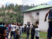 કોટખાઈ કેસ: આરોપીની કેદમાં થઇ હત્યા, લોકોએ સ્ટેશનમાં ચાંપી આગ