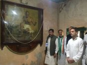 રાહુલ ગાંધી પહોંચ્યા પોરબંદર, કિર્તી મંદિર અને શ્રીનાથજી હવેલીના કર્યા દર્શન