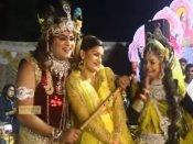 Video: કૃષ્ણ સાથે રાધા બની નાચી સપના ચૌધરી, ફેન્સ ચોંક્યા