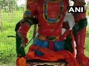 તેલંગાણા: કેટલાક શરારતી તત્વોએ હનુમાનજીની મૂર્તિ તોડી