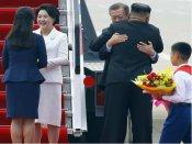 ગળે મળ્યા બે કોરિયાઈ નેતાઃ જાણો આ વખતે શું ઈચ્છે છે કિમ અને મૂન