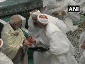 સૈફી મસ્જિદમાં પીએમ મોદી, 'વોહરા સમાજની રાષ્ટ્રભક્તિ દેશ માટે ઉદાહરણરૂપ'