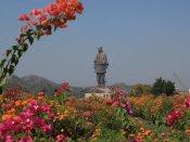 #StatueOfUnity: પીએમ મોદીએ કર્યુ સરદાર પટેલની પ્રતિમાનું અનાવરણ, જુઓ ફોટા