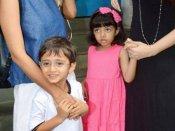 વાયરલ Video: રામ-સીતાની જોડીમાં જોવા મળ્યા ઐશ્વર્યા-આમિરના બાળકો
