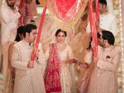 Pic & Video: ઈશા અંબાણીના લગ્નમાં ઠહાકા લગાવતી એશ, શાહરુખ, સલમાન...