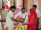 જીતનો આશીર્વાદ લેવા માટે ત્રિપુર સુંદરી મંદિર પહોંચી વસુંધરા રાજે