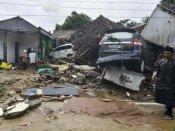 ઈન્ડોનેશિયા સુનામીઃ જ્વાળામુખી ફાટવાને કારણે થયો વિનાશ, 281 લોકોના મોત