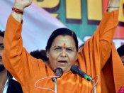 હવે ઉમા ભારતીએ પાર કરી મર્યાદા, પ્રિયંકા ગાંધીને કહ્યા 'ચોરની પત્ની'