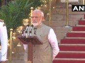 PM મોદીનું શપથ ગ્રહણ: નરેન્દ્ર મોદી બીજી વાર પીએમ બન્યા, શપથ લીધી