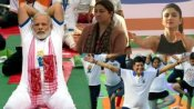 ભારત સાથે સમગ્ર દુનિયાએ કર્યા યોગ, સ્મૃતિ-શિલ્પા-પિયુષ ગોયલે કર્યા આસન