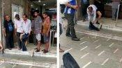 VIDEO: પેન્ટના ખિસ્સામાં મુકેલા મોબાઇલમાં બ્લાસ્ટ થયો