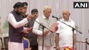 કર્ણાટકમાં યેદીયુરપ્પા સરકારમાં 17 મંત્રીઓ શામિલ થયા