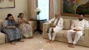 ભારત આવ્યા પછી અરુણ જેટલીના ઘરે પહોંચ્યા પીએમ મોદી