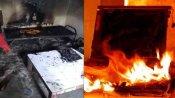 બેડ પર લેપટૉપ શટ ડાઉન કર્યા વિના સ્લીપ મોડમાં રાખી દેતા થયો ધમાકો, લાગી આગ