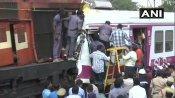 Video: હૈદરાબાદના કચેગુડા રેલવે સ્ટેશને બે ટ્રેન વચ્ચે ટક્કર, કેટલાય યાત્રી ઘાયલ