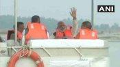 નમામિ ગંગેઃ PM મોદીએ કાનપુરમાં મુખ્યમંત્રીઓ સાથે કર્યુ ગંગા સફાઈનુ નિરીક્ષણ