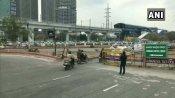 શાહીન બાગ વિરોધઃ પોલિસે કાલિંદી કુંજથી ફરીદાબાદનો રસ્તો ફરીથી બંધ કર્યો