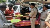 લૉકડાઉનઃ બેંગ્લોર પોલીસે મશાલ રજૂ કરી, બેઘર લોકોને ખાવાનું ખવળાવ્યું