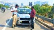ગાડીની નમ્બર પ્લેટ પર લખ્યું હતું રામ, ટ્રાફીક પોલીસે આપ્યો મેમો