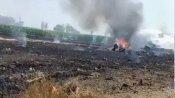 પંજાબના હોશિયારપુર નજીક મિગ -29 લડાકુ વિમાન ક્રેશ થયું, પાઇલટ સલામત