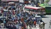 ગુજરાતમાં ફરી મજૂરોની બબાલ, પોલીસ પર પણ પથ્થરમારો કર્યો