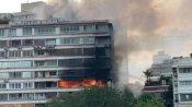મુંબઇ: બિંલ્ડીંગમાં લાગી ભિષણ આગ, બચાવ કાર્ય ચાલુ