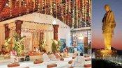 સ્ટેચ્યુ ઑફ યુનિટીઃ લગ્ન સમારંભો માટે ખુલી વિશ્વની સૌથી ઉંચી પ્રતિમા