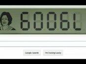 આજનું ગૂગલ ડુડલ: ભારતની સૌથી યુવા સુપર હીરો શકુંતલા દેવીને ટ્રીબ્યુટ
